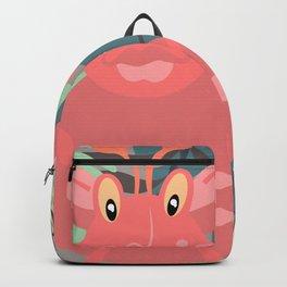 Happy Go Lucky Monster Backpack
