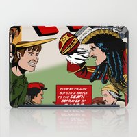 captain hook iPad Cases featuring Hook Comic by mikaelak