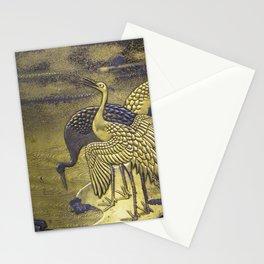 Golden Birds Stationery Cards