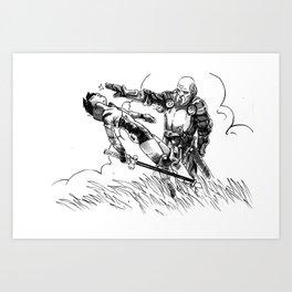 Caballero Art Print