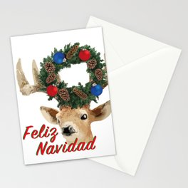 Feliz Navidad Spanish Merry Christmas Stationery Cards