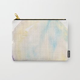 6  | 200130 | Circle | Moon | Watercolor Painting |  Watercolor Art | Minimalism | Minimalist Art Carry-All Pouch