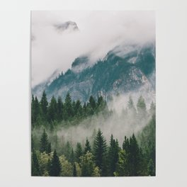 Vancouver Fog Poster