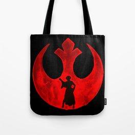 Star Wars Princess Leia in Red  Tote Bag