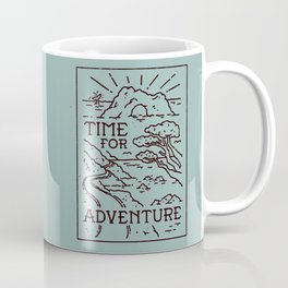 Time For Adventure Coffee Mug