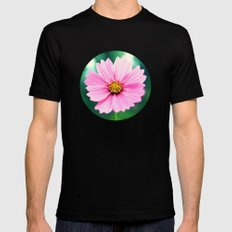 Pretty in Pink Mens Fitted Tee Black MEDIUM