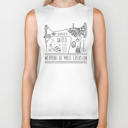 Weapons Of Mass Creation - Sewing Biker Tank