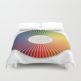 Chevreul Cercle Chromatique, 1861 Remake, renewed version Duvet Cover