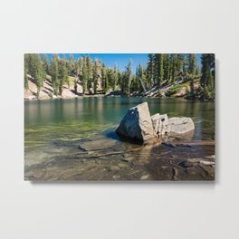 Terrace Lake Metal Print