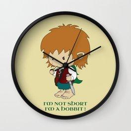 I'm not short, I'm a hobbit Wall Clock
