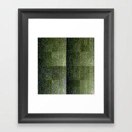 4^n Framed Art Print