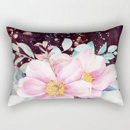 Flowers bouquet 71 Rectangular Pillow