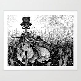 Scarecello Art Print