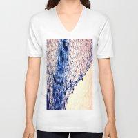 artsy V-neck T-shirts featuring organic artsy by lylychang5