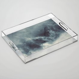 Ocean of clouds by Teresa Thompson Acrylic Tray