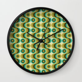 Retroact 3 Wall Clock