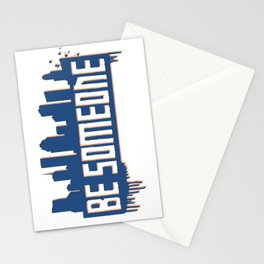 Be Someone - HTX - Navy Stationery Cards