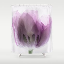 Inside Out Tulip Shower Curtain