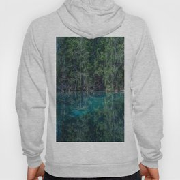 Magical Atmosphere By The Forest Source - Beautiful Reflection #decor #society6 #buyart Hoody