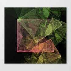 Abstract Art Cubic Space Canvas Print