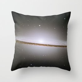The Sombrero Galaxy - Messier Object 104 Throw Pillow