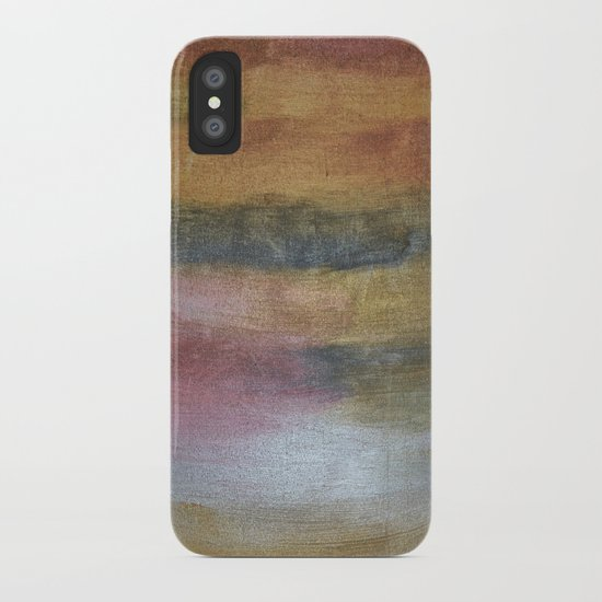 Color plate - rusty iPhone Case