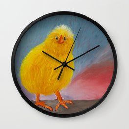 Beau Peep Wall Clock