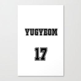 GOT7 YUGYEOM 17 Canvas Print