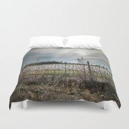 Florida Cotton Fields  Duvet Cover
