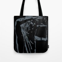 jared leto Tote Bags featuring Jared Leto (gig) by idontfindyouthatinteresting