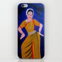 dancer iPhone & iPod Skins featuring Dancer by Priyanka Rastogi