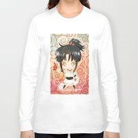 chibi Long Sleeve T-shirts featuring Chibi Ashura by Neo Crystal Tokyo