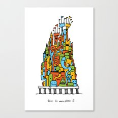 Monster Tower III Canvas Print