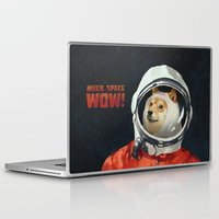 doge Laptop & iPad Skins featuring DOGE by Ilya Brovkin