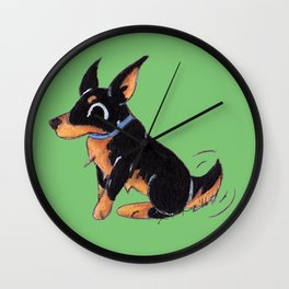 Dobie Wall Clock