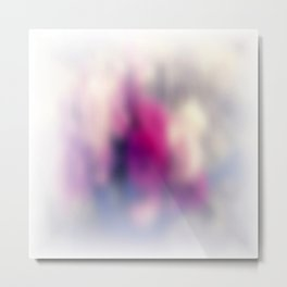 Summer morning. Abstract blurred pattern Metal Print