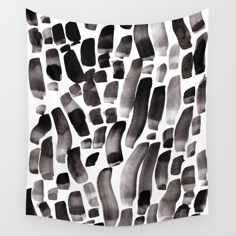 Ink Dance Wall Tapestry by Budikwan TPS3078138