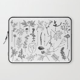 Botanical Drawings by young school kids artists, profits are donated to The Ivy Montessori School Laptop Sleeve