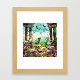 ALL THINGS COME ALIVE AGAIN Framed Art Print