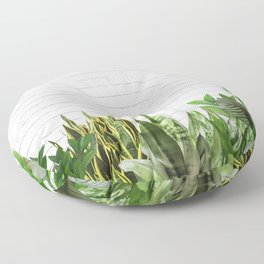 Plants Life Floor Pillow