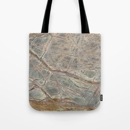 Brown Marble I Tote Bag