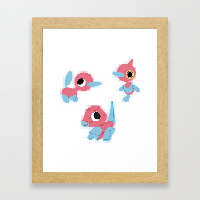 P3 Framed Art Print