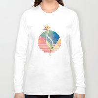 paradise Long Sleeve T-shirts featuring Paradise by James McKenzie
