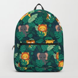 Cute jungle pattern Backpack