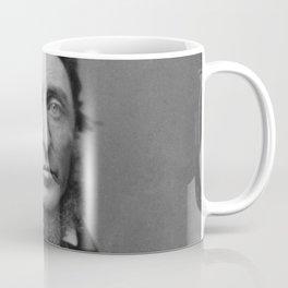 Benjamin Maxham - portrait of Henry David Thoreau Coffee Mug