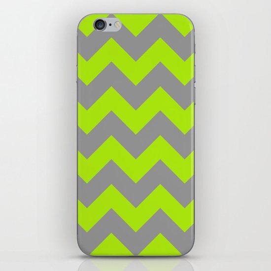 Chevron Lime iPhone Skin