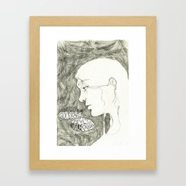 good people. Framed Art Print