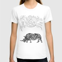 rhino T-shirts featuring Rhino by famenxt