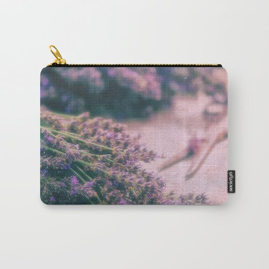 Lavender Revival Carry-All Pouch
