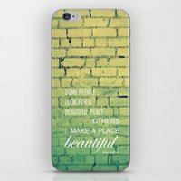 shabby chic iPhone & iPod Skins featuring shabby chic by Nina Sinitskaya